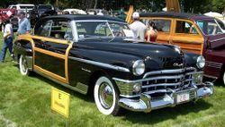 1950 Chrysler Newport coupe
