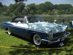 1956 Chrysler New Yorker convertible