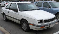 1987-1990 Plymouth Sundance 3-door