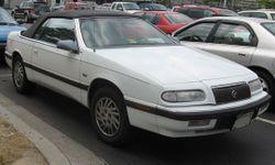 1993-1995 LeBaron convertible