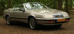 1989 LeBaron Premium convertible (Europe)