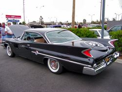 1960 Chrysler 300F.