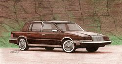 Drawing of 1991 Chrysler Imperial