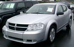 2008 Dodge Avenger (Europe)