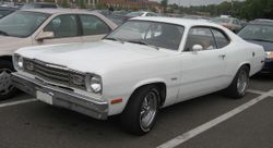 First generation Plymouth Duster