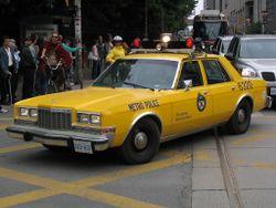Plymouth Caravelle/Caravelle Salon police car (Canada)